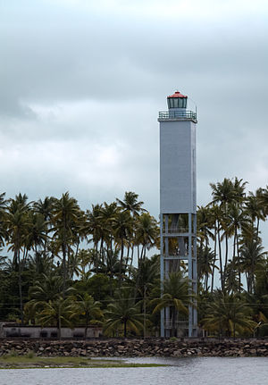 Manakkodam Lighthouse - Manakkodam lighthouse, 2012