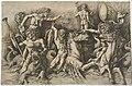 Andrea Mantegna - The Battle of the Sea Gods (the Left Half) - Google Art Project.jpg