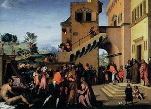 Giuseppe interpreta i sogni del faraone (1515-1516)