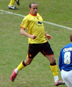 Andros Townsend - Townsend playing for Watford in 2011