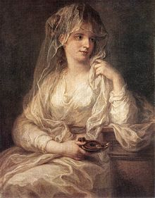 Angelica Kauffmann - Portrait of a Woman Dressed as Vestal Virgin - WGA12101.jpg