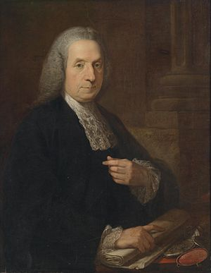 Attorney-General for Ireland -  Philip Tisdall, Attorney General for  Ireland from 1760 to 1777, portrait by Angelica Kauffmann