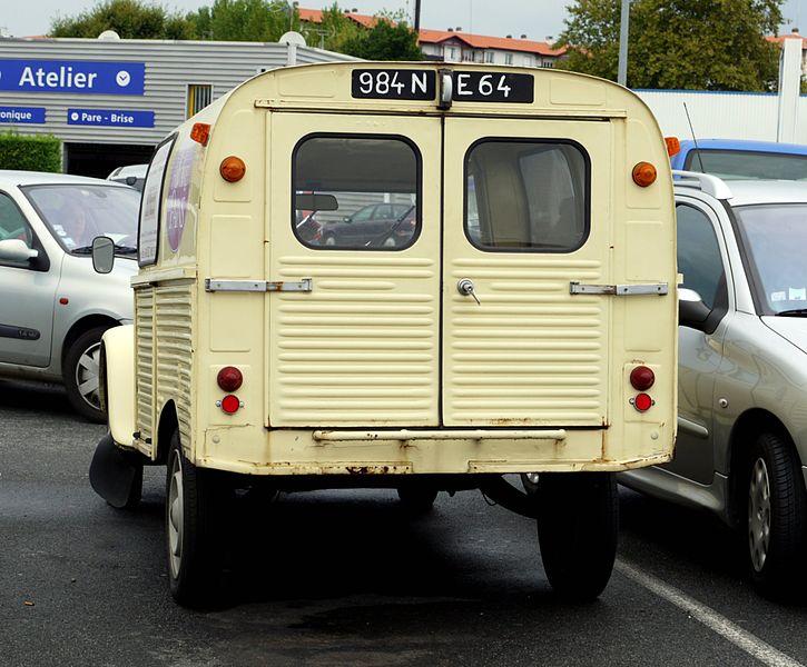 Citroën 2CV Fourgonette.