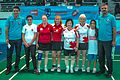 Ankara - BWF World Senior Badminton Championships - WD 60 - Bartlett?Creasy (GBR) def Siew Har & Sanne 6 & 9 (11078010545).jpg