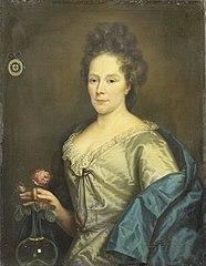 Portrait of Anna Maria van Hogendorp, second Wife of François Leydecker