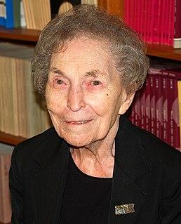 Anna Schwartz American economist