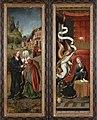 Annunciatie en Visitatie, circa 1501 - circa 1525, Groeningemuseum, 0040264000.jpg