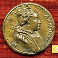 Anonimo, medaglia di maria d'aragona, moglie di alfonso II d'avalos.JPG