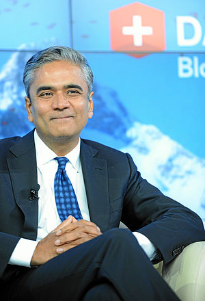 Anshu Jain - Jain at the World Economic Forum Annual Meeting in 2013
