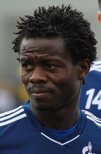 Anthony Annan with Schalke 04 in 2011