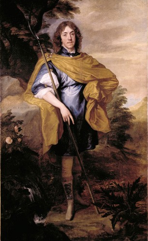 George Stewart, 9th Seigneur d'Aubigny - George Stewart, 9th Seigneur d'Aubigny, 1638, by Anthony van Dyck.