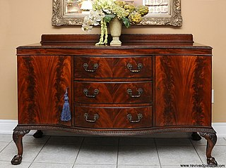 File Antique Chippendale Buffet Jpg Wikimedia Commons