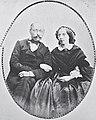 Antoni Brachocki, Antanina Kiarsnoŭskaja. Антоні Брахоцкі, Антаніна Кярсноўская (1856-61).jpg
