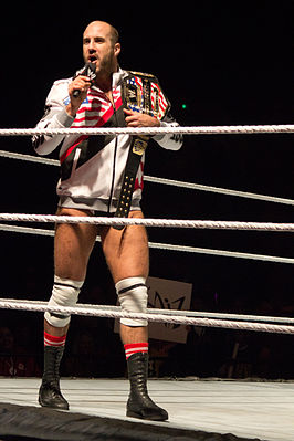 Claudio Castagnoli ( Cesaro ) als United States Champion, in 2013