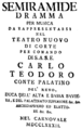 Antonio Salieri - Semiramide - italian titlepage of the libretto - Munich 1782.png