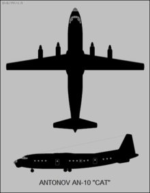 Antonov An-10 Cat two-view silhouette.png
