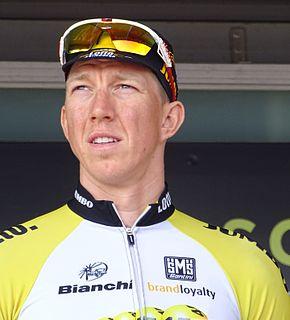 Sep Vanmarcke Belgian racing cyclist