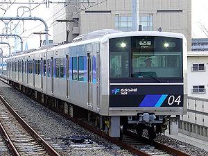 Aonami Line - A 1000 series EMU