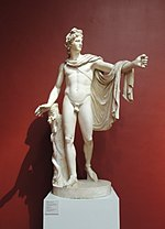 Apollo Belvedere - replica in Pushkin museum 01 by shakko.jpg
