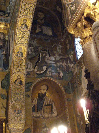 English: Apostle Paul in the apse