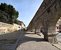 Aqueduct and lane in Segovia Spain.jpg