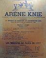 Arène Knie in Lausanne, Anschlagzetel um 1860, Archiv Gebrüder Knie - Stadtmuseum Rapperswil 2013-02-02 16-29-48 (P7700).JPG