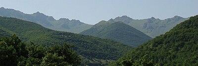 چشم انداز روستای گلوج