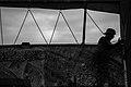 Arba'een In Mehran City 2016 - Iran (Black And White Photography-Mostafa Meraji) اربعین در مهران- ایران- عکس های سیاه و سفید 35.jpg