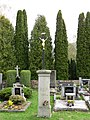 Areál hřbitova při kostele sv. Václava v Čachrově, krucifix 1913.jpg