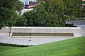Arlington National Cemetery - RFK Grave Site reflecting pool - 2011.jpg