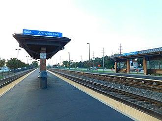 Arlington Park station - Image: Arlington Park Station