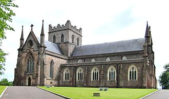 St Patrick's Cathedral, Armagh (Church of Ireland) - Image: Armagh Cathedral (Church of Ireland)