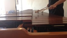Fichier:Arp, for solo marimba, by Evert Van Eynde.ogv