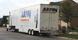Arpin Van Lines moving van Superior Township Michigan