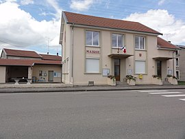 The town hall in Arracourt