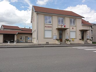 Arracourt - The town hall in Arracourt