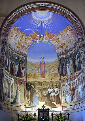 Church of the Visitation - Image: Art at Church of the Visitation