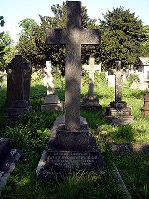 Arthur Haliburton, 1st Baron Haliburton - Funerary monument, Brompton Cemetery, London