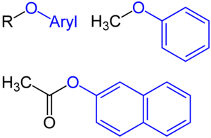 Alkoxy group - Aryloxy groups