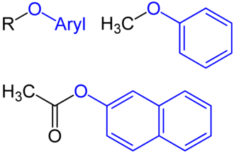 Alkoxy group - Aryloxy groups