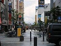 Asahikawa city Heiwa street shopping park.jpg