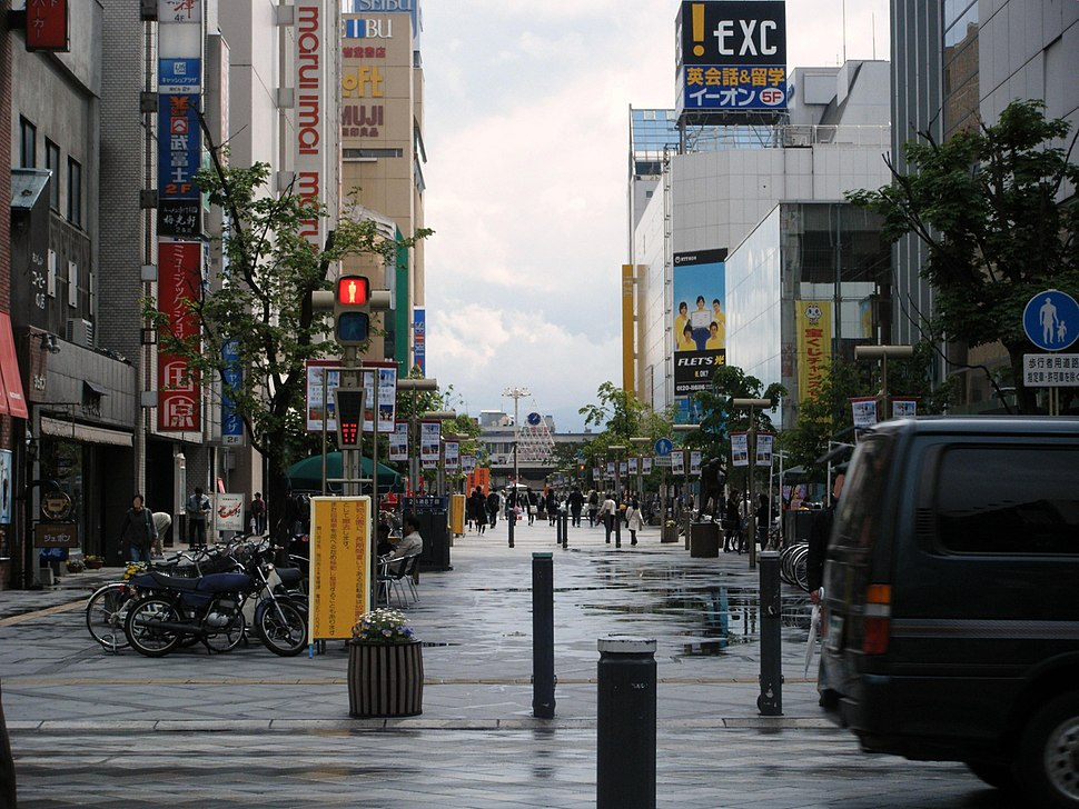Asahikawa city Heiwa street shopping park