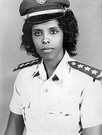 Somali Air Force - Asli Hassan Abade, a pioneer in the Somali Air Force.