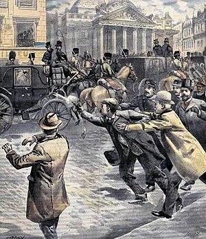 Rubino en el atentado de 1902.