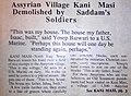 Assyrian Village Kani Masi Demolished by Saddam's Soldiers -1 of 2.jpg