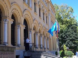 Government of the autonomous community of the Principality of Asturias (Spain)