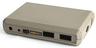 Atari SIO - The Atari 850 provided Centronics printer and RS-232 serial ports to connect to 3rd party devices. Typical of SIO devices, it has both in and out ports to allow daisy chaining.