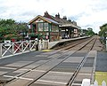 Attleborough railway station - view across Station Road - geograph.org.uk - 1408031.jpg