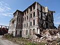 Auberchicourt - Démolition des Grands bureaux de la Compagnie des mines d'Aniche le 24 juillet 2013 (14).JPG