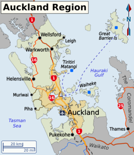 Auckland Region Region of New Zealand